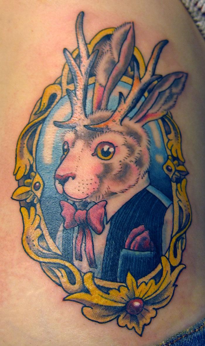 Jackalope Tattoo Tumblr jessie-jackalope