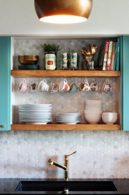 modern vintage kitchen makeover 8