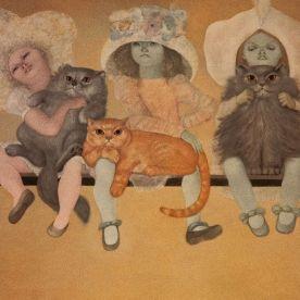 leonor-fini-estampes-lithographies-1971-les-mutantes